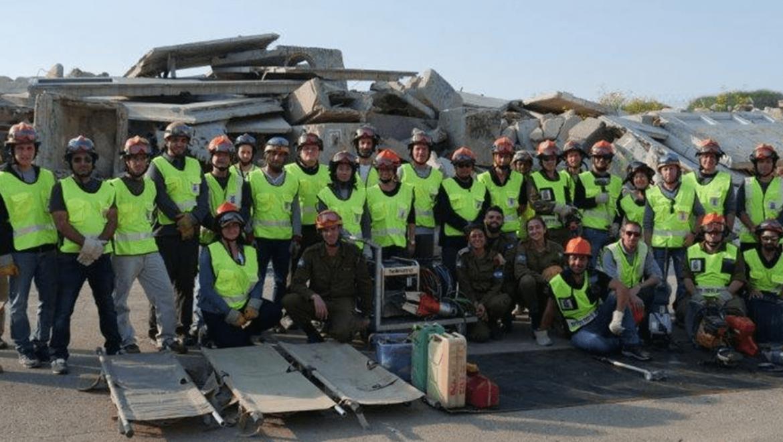 עיריית חיפה – מתנדבי חילוץ והצלה, נובמבר 2018