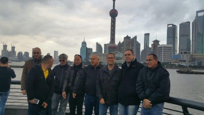 """משלחת קב""""טים לסין"""